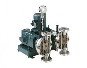 Process pumps Idrodox with double head