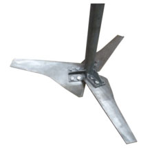 industrial agitators with axial propeller